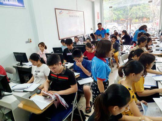 Học tin học văn phòng thực hành tại Thanh Hóa