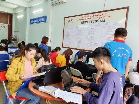 Học kế toán thực hành ở Thanh Hóa
