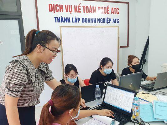 báo cáo tài chính tại Thanh Hóa