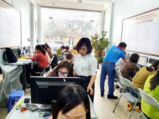 Trung tâm tin học văn phòng tại Thanh Hóa